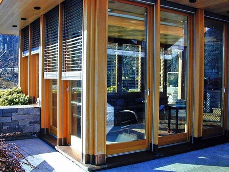 Oscuranti per finestre le finestre oscuranti per finestre materiali - Vetri fotovoltaici per finestre ...