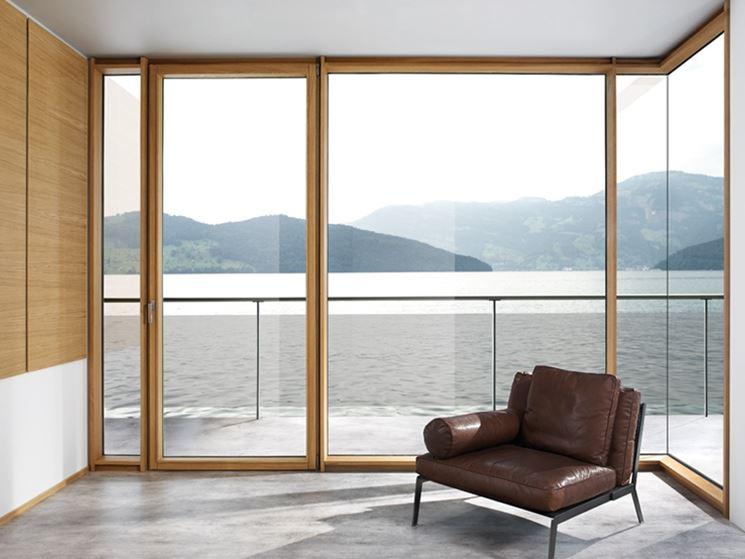 Quando installare le finestre in legno lamellare le - Costo finestre doppi vetri ...
