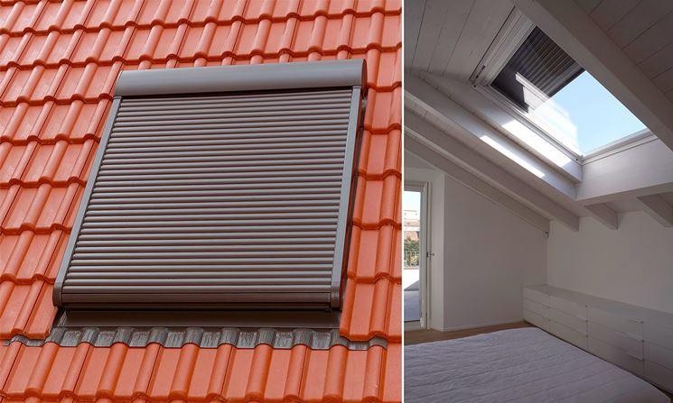 Tapparelle elettriche di sicurezza sul tetto