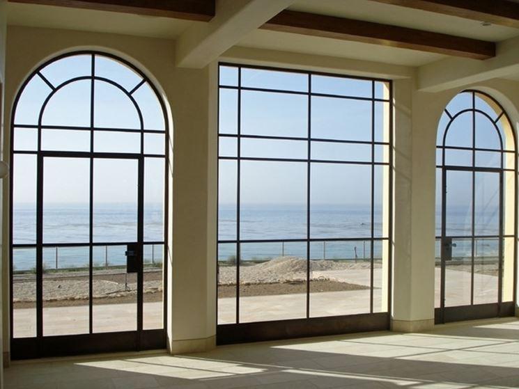 vantaggi delle porte finestre in alluminio le finestre