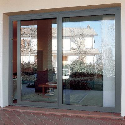 Montare una porta finestra scorrevole le finestre come Finestra grande scorrevole