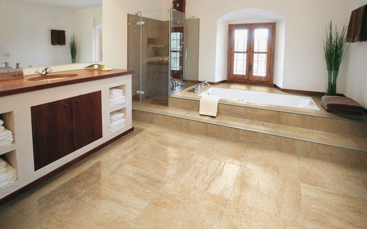 Pavimenti in gres porcellanato ad effetto marmo