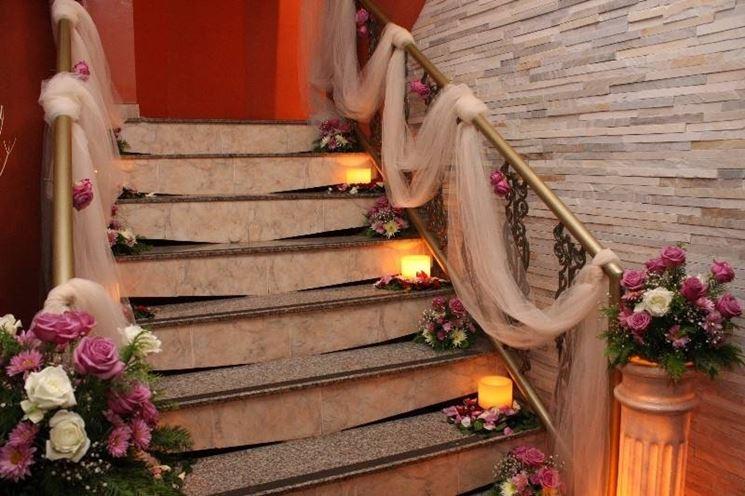 Scalinata decorata