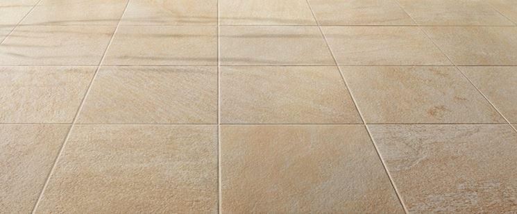 pavimento di piastrelle in ceramica