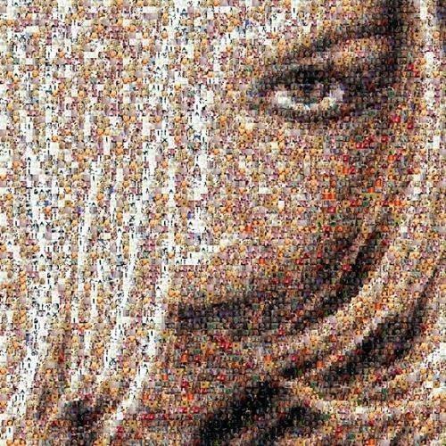 Mosaico digitale le piastrelle come fare un mosaico - Frese per piastrelle ...
