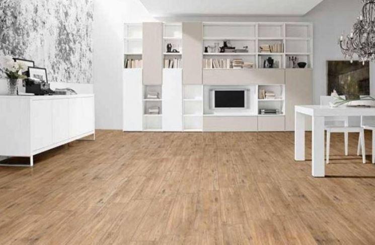 Piastrelle finto legno senza fuga. gallery of gres effetto legno
