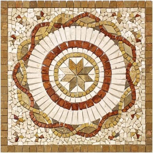 realizzare un mosaico per esterni le piastrelle ecco