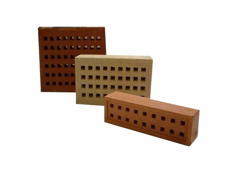 Altri tipi di mattoni forati