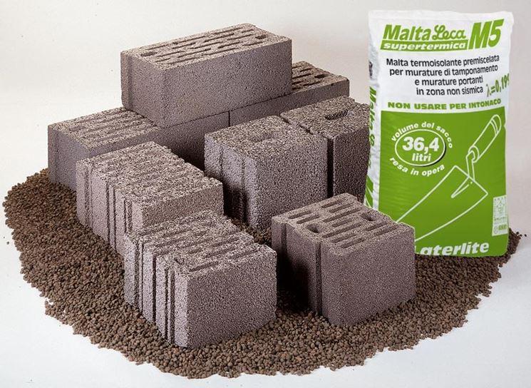 blocchi termici in laterizio