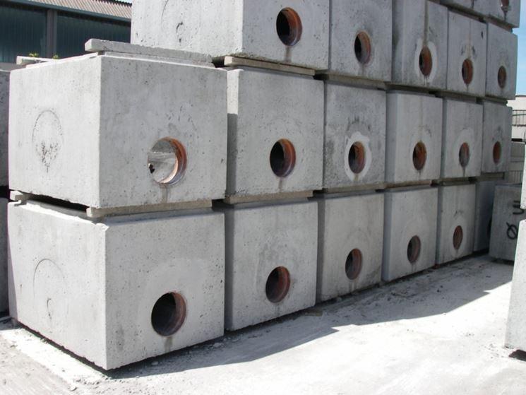 Pozzetti in cemento per fognatura