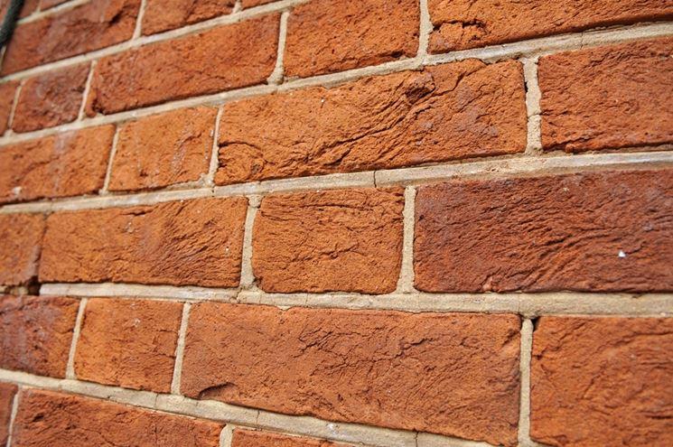 Giunti di malta in una muratura