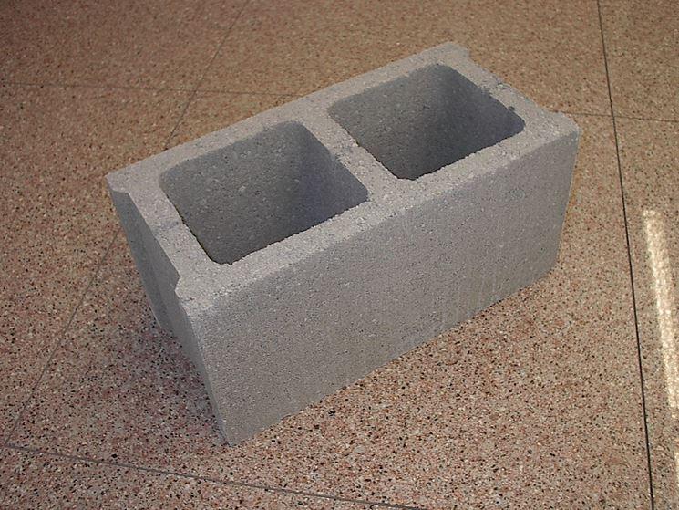 Mattoni di cemento - Materiali in Edilizia - Mattoni in cemento