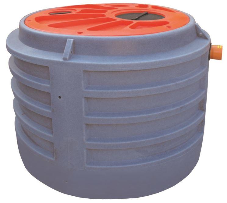Vasche imhoff in plastica