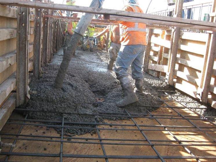 Lavorazione cemento