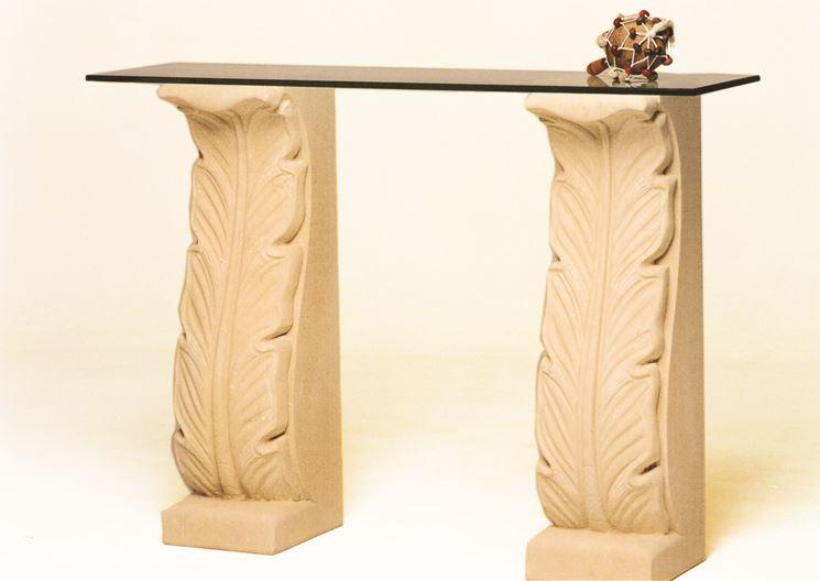 Tavolino in pietra leccese