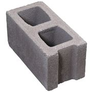 Blocco di cemento forato