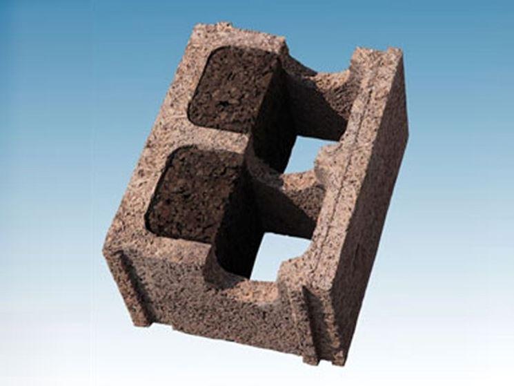 Blocco in legno cemento