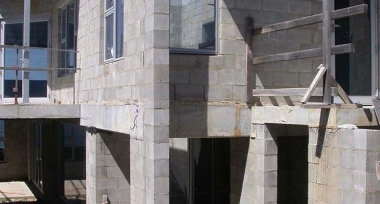 Murature in blocchi di calcestruzzo