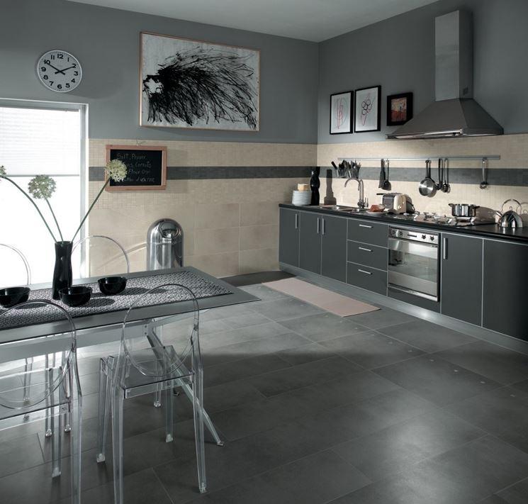 Utilizzo della pietra serena materiali in edilizia la for Pavimento per cucina