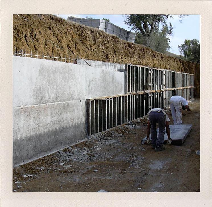 Muro In Cemento Armato Prezzo.Come Realizzare Muri In Cemento Armato Muri E Muratura