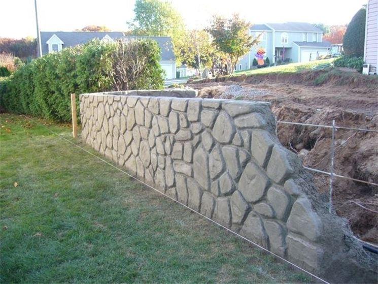 Come Costruire Un Muro Di Pietra.Come Realizzare Muri In Cemento Armato Muri E Muratura