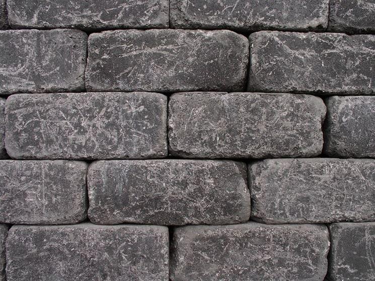Esempio di muro a secco
