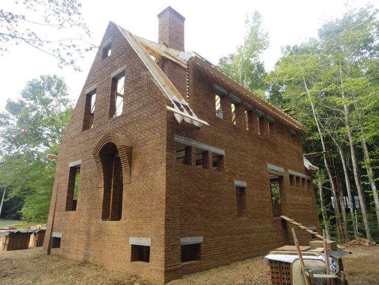 Muratura fai da te muri e muratura come realizzare una for Case di tronchi di blocchi di legno