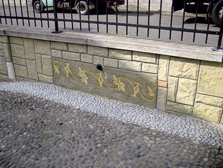 Un muro di cinta personalizzato