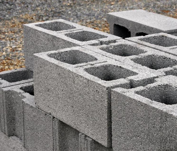 Blocchi di cemento alleggerito