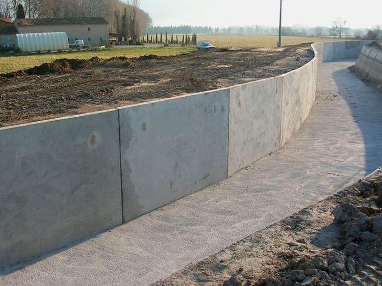 Muro portante in calcestruzzo