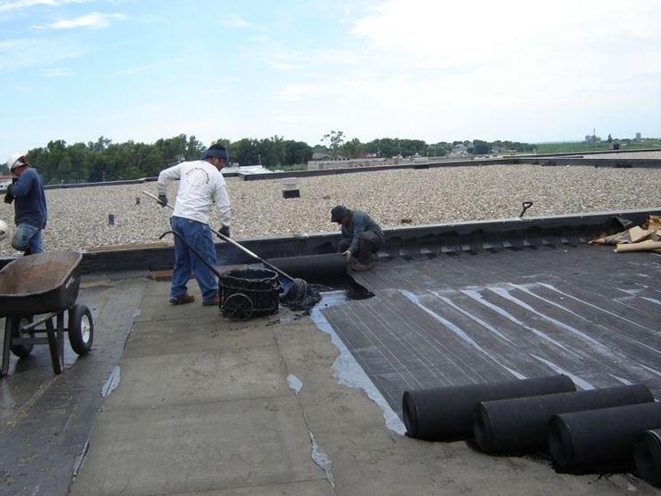 Come realizzare l\'impermeabilizzazione dei terrazzi - Pavimentazioni ...