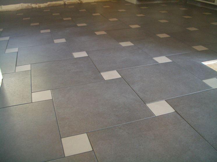Pavimento di piastrelle