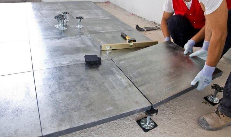 La posa in opera pavimenti pavimentazioni posa dei pavimenti - Posa piastrelle pavimento ...
