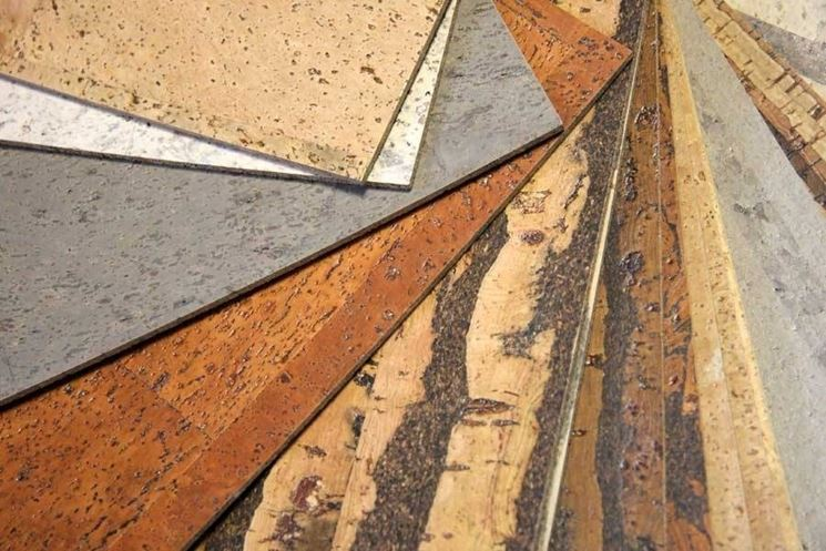 Tipi di pavimenti in sughero