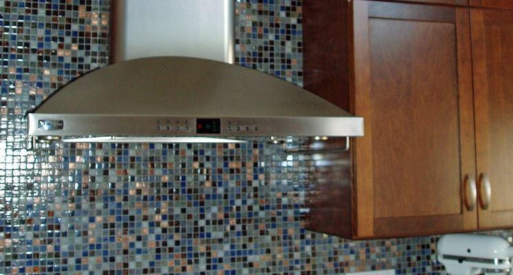 Rivestimento in mosaico in cucina