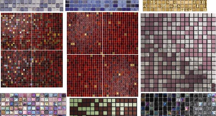 Esempi di piastrelle in mosaico