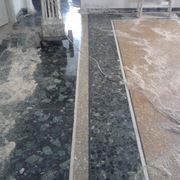 Lucidatura pavimento in graniglia