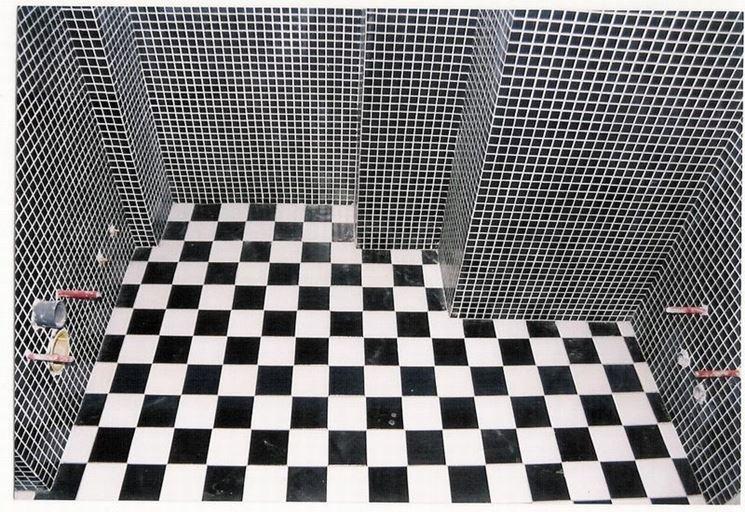 Modelli di pavimento a mosaico pavimentazioni - Posa mosaico bagno ...