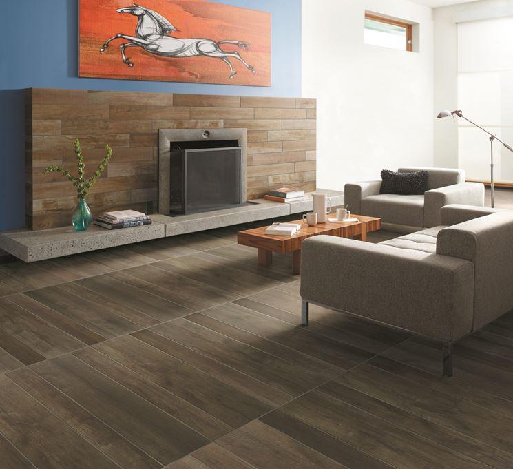Pavimenti gres porcellanato effetto legno pavimentazioni for Pavimenti per soggiorno