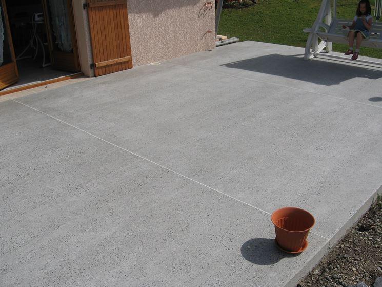 Pavimenti per esterni in cemento pavimentazioni - Piastrelle di cemento da esterno ...