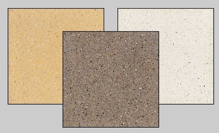 Realizzare un pavimento in graniglia pavimentazioni - Piastrelle da interno ...