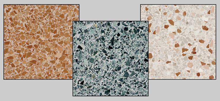 Realizzare un pavimento in graniglia pavimentazioni - Piastrelle 10x10 sale e pepe ...