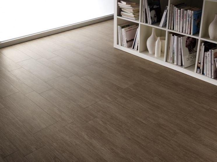 Tipologie di ceramica effetto legno pavimentazioni for Piastrelle ceramica finto legno