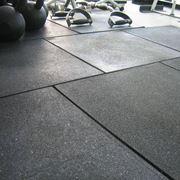 I pavimenti in gomma sono molto usati in locali pubblici