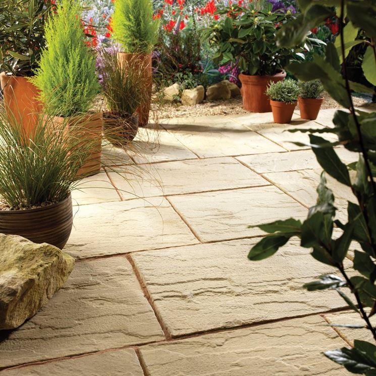 Come realizzare la pavimentazione per giardino pavimento - Pavimentazione da esterno ...