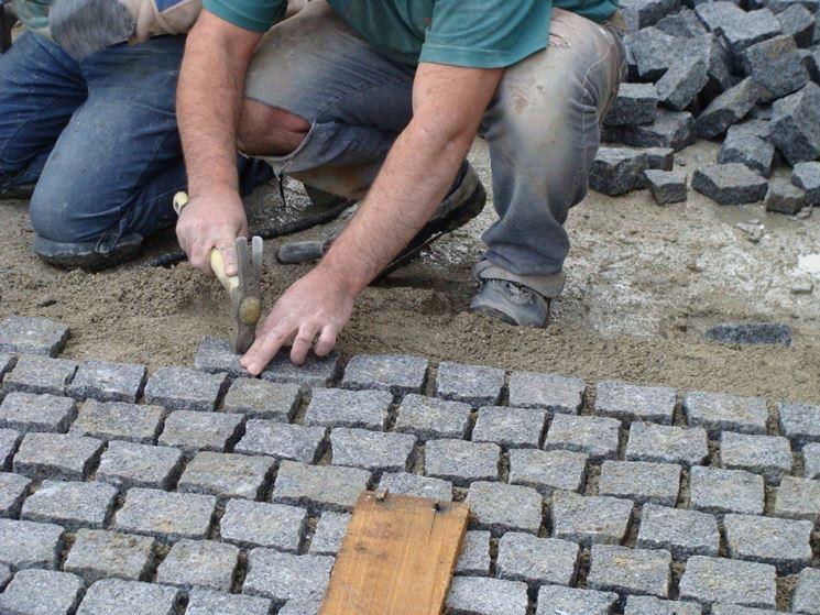 Eccezionale Come realizzare la pavimentazione per giardino - Pavimento da  IQ94