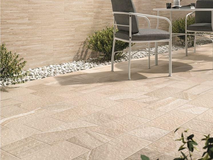 Come scegliere le ceramiche da esterni pavimento da - Gres porcellanato da esterno ...
