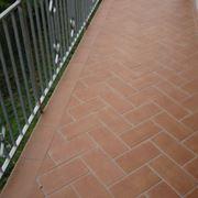 pavimenti balcone terracotta