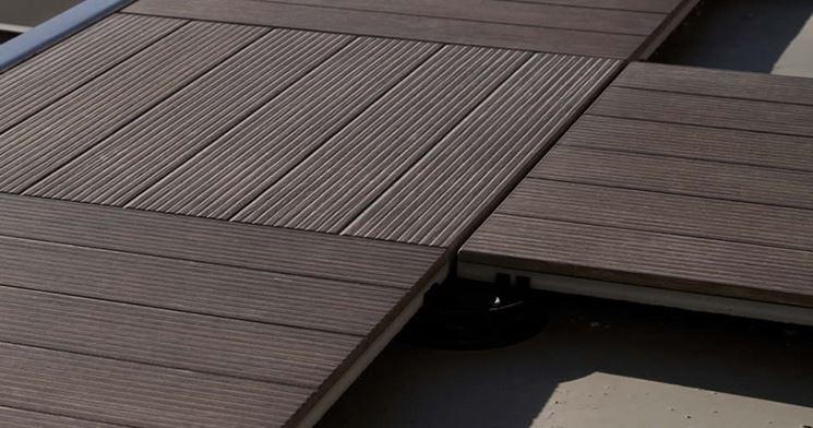 Migliori pannelli a pavimento pavimento da esterni for Pavimento legno esterno leroy merlin