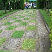 Esempio di pavimentazione per giardini